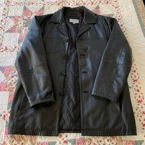 Wilsons Leather M. Julian Black Leather Jacket